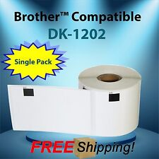1 Roll Of Labels123 Brand Fits Dk 1202 Brother Ql500 700 2 37x4 P Touch