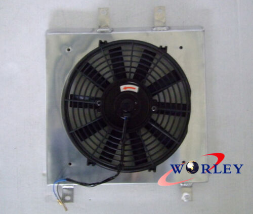ALUMINUM SHROUD /& FAN FOR 1992-2000 Honda Civic EK EG D15 D16 B16 B18