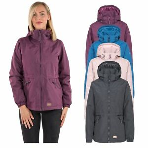 Trespass-Womens-Padded-Jacket-Waterproof-Insulated-Warm-Raincoat