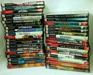 PlayStation-2-PS2-Games-Pick-amp-Choose-ALL-CIB-TESTED-amp-WORKING