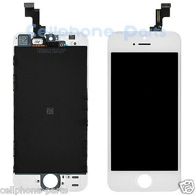 iPhone 5s LCD Screen Display with Digitizer Touch Panel Replacement Part, White