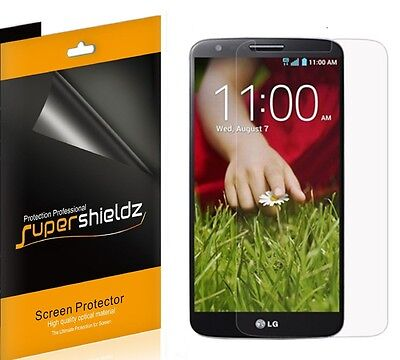 6X Supershieldz HD Clear LCD Screen Protector Shield Guard Cover Film For LG G2