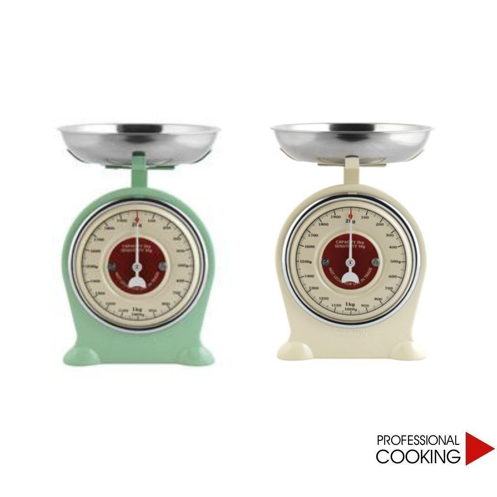 Bilancia da cucina in metallo con piatto kg.2