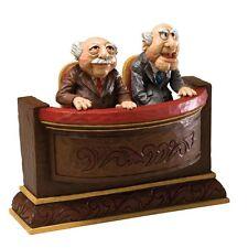Jim Shore Muppet Show Waldorf & Statler Critical Curmudgeons Disney Traditions