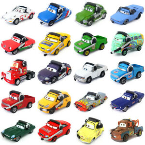 Disney-Pixar-Cars-Command-Cars-Toy-Car-1-55-Diecast-Model-Loose-Boys-Kids-Gifts