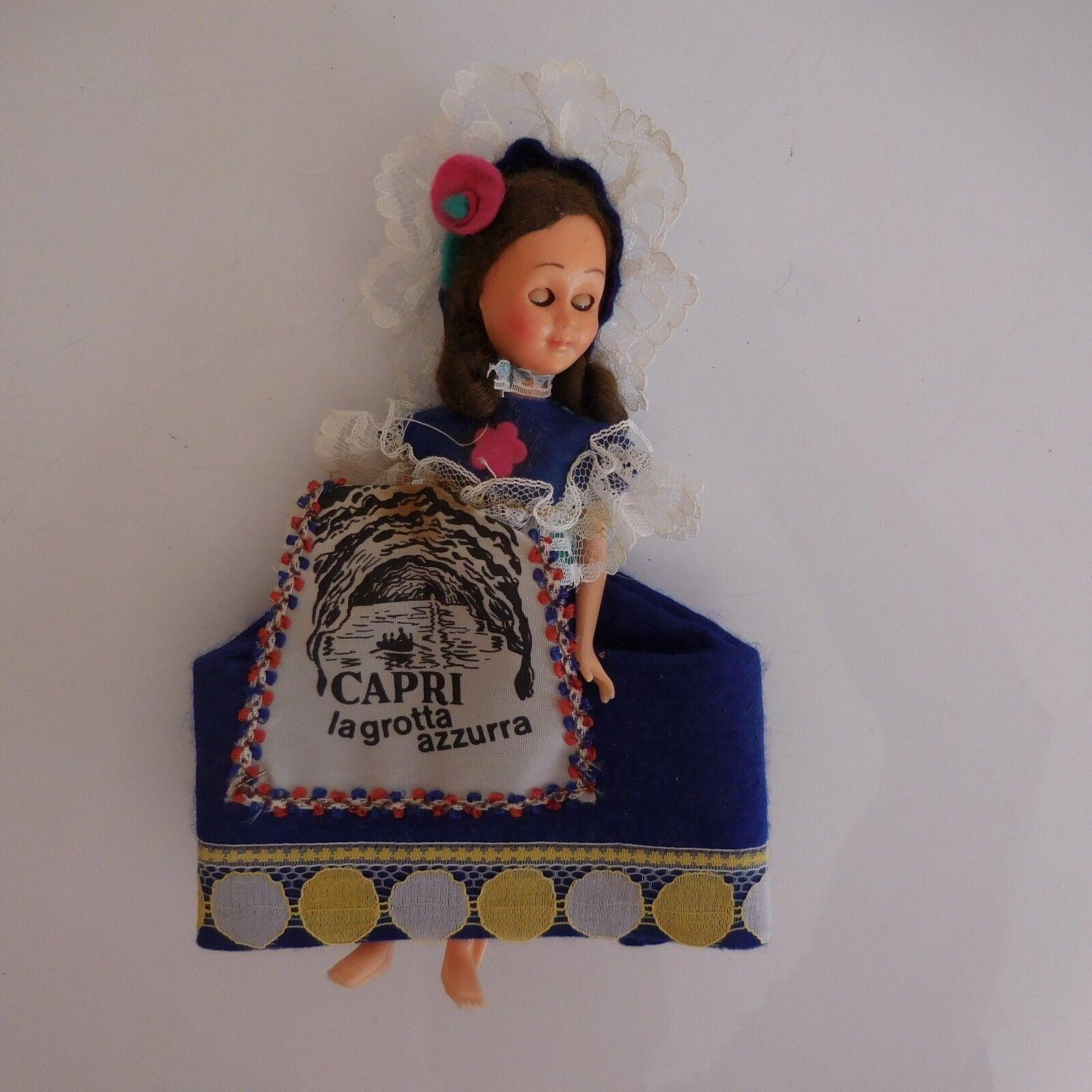 Bambola Personaggio Collezione Capri la Grossota Azzurro Tradition Gauss Xxe Pn