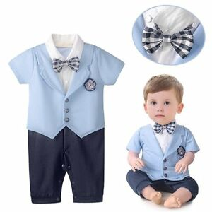 Image Is Loading Baby Toddler Boy Wedding Formal Tuxedo Suit Outfit
