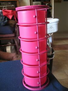 'Organizer-Home-Decor-Bathroom-Room-etc-Storage-Counter-Tower-6-Drawers-Pink' from the web at 'https://i.ebayimg.com/images/g/W5kAAOSwzaJX61pl/s-l300.jpg'