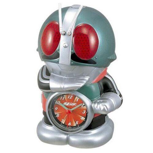 NEW SEIKO Masked Kamen rider Talking Alarm Clock Japan Japanese Hero