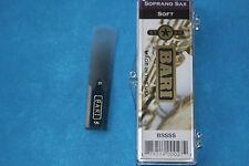 Bari Star Series Synthetic Soprano Sax Reed, Soft, Warmer, Darker, BSSSS