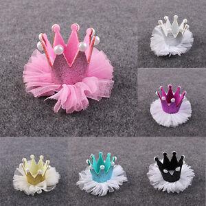 Filles-Pinces-a-cheveux-Couronne-Perle-Princesse-Barrette-Coiffe-Accessoires