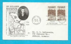 CANADA - 1970 CANADA  SIR ALEXANDER MACKENZIE FDC - SCOTT 516 - N785