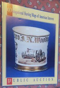 1991 Machmer Occupational Shaving Mug Auction Catalog Price Estimates 160 Photos Ebay