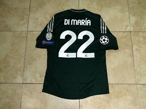 innovative design 52d0b 9f5ec Details about Di Maria Real Madrid Shirt Jersey Formotion Player Issue  Match Un Worn UCL
