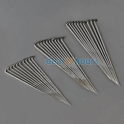 30pcs Felting Needles 3.5 inch /3.4 inch /3 inch Fits Mushroom Hand Crafts Tools