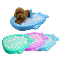Whale Style Indoor Puppy Dog Pet House Potty Training Pee Pad Mat Tray Toilet