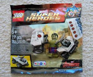 LEGO-Marvel-Super-Heroes-Rare-Hulk-5003084-New