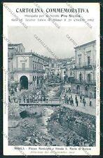 Ragusa Modica Alluvione 1902 cartolina QQ0622