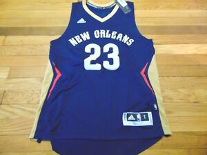 new concept 4b877 9956c Details about ADIDAS NBA REVOLUTION 30 NEW ORLEANS PELICANS ANTHONY DAVIS  SWINGMAN JERSEY S