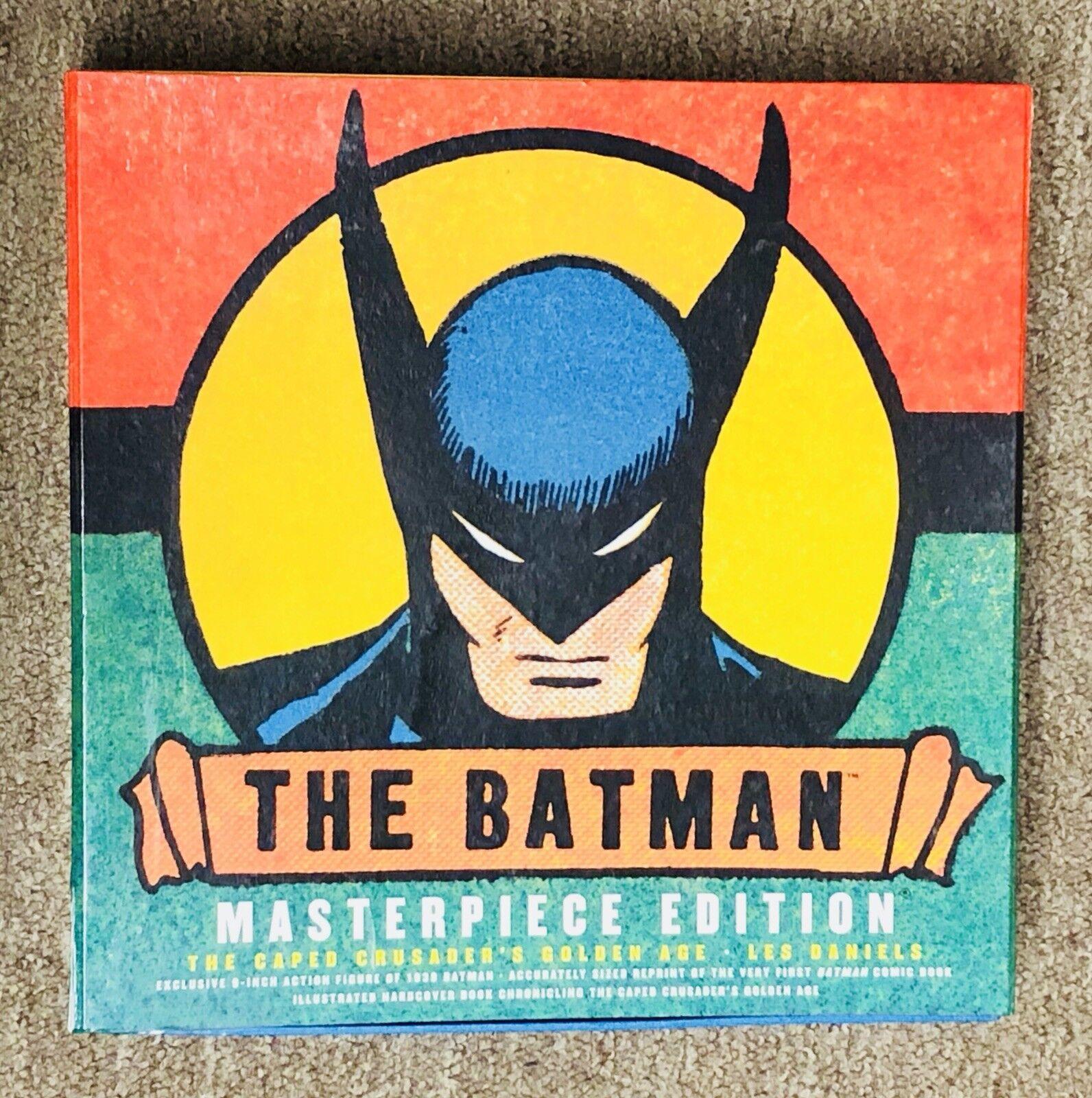 BATMAN 1 Comic and Figure Masterpiece Edition, golden Age, Rare. Limited.