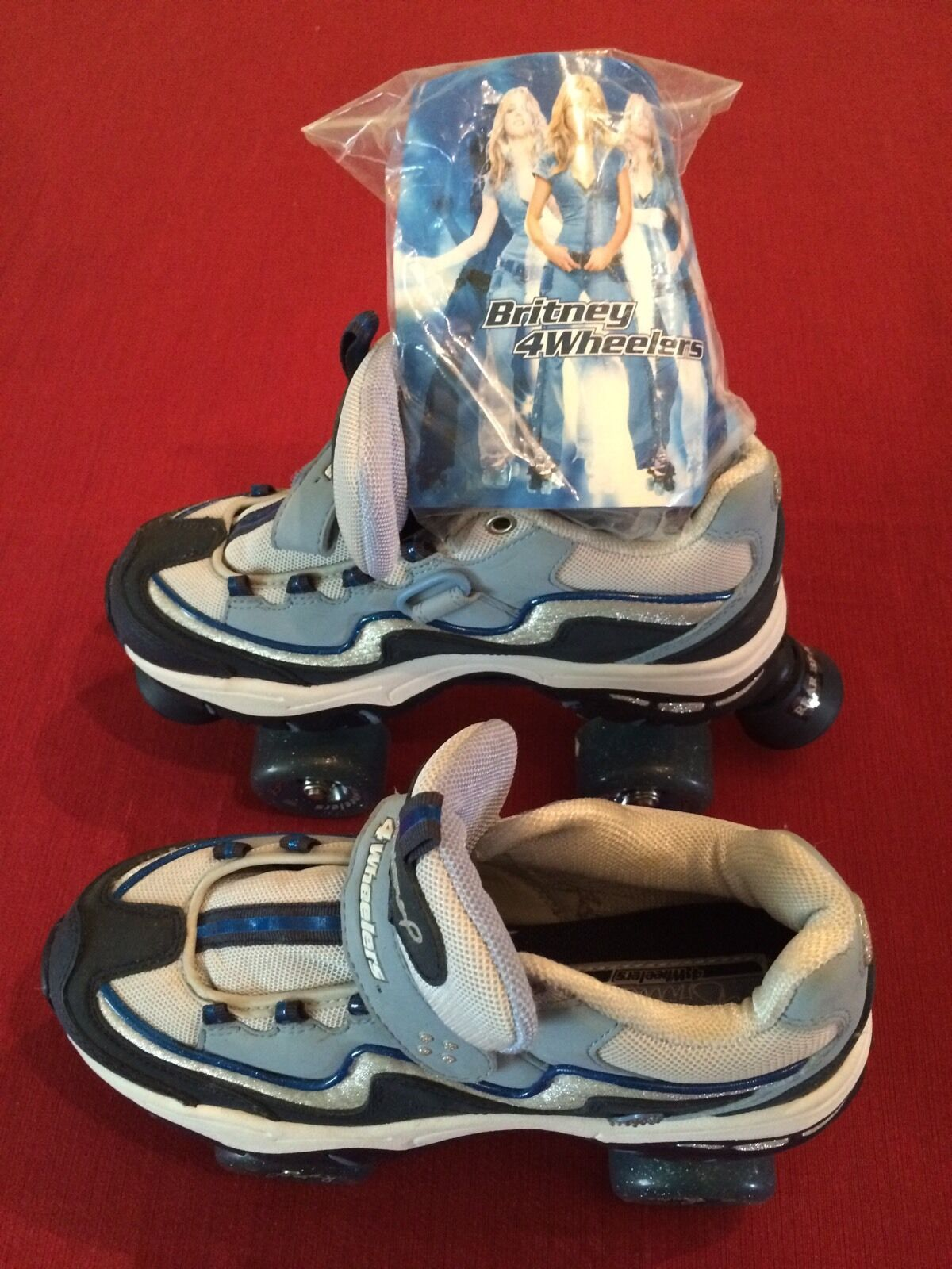 Britney Spears 4 Wheelers Rollers s, Size 7.5,  Hardly Used  large discount