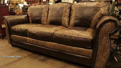 Awesome United Leather El Dorado Handmade 100 Top Grain Leather Sofa Made In Usa Texas Ebay Gamerscity Chair Design For Home Gamerscityorg