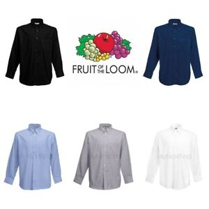 Fruit-of-the-Loom-Oxford-Long-Sleeve-Shirt