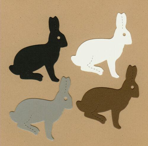 AccuCut Rabbit #1 Die Cuts