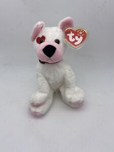 TY 2001 Cupid The Beanie Babies Collection Valentine Puppy Plush Stuffed Animal