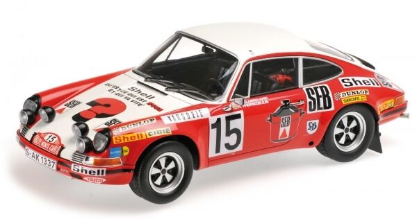 Porsche 911 S no. 15 Rally Monte Carlo 1972 (Waldegard - thorszelius)