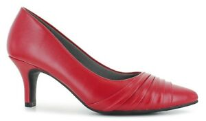 NEW-womens-shoes-SIZE-12-M-red-2-5-034-HEELS-classic-STACY