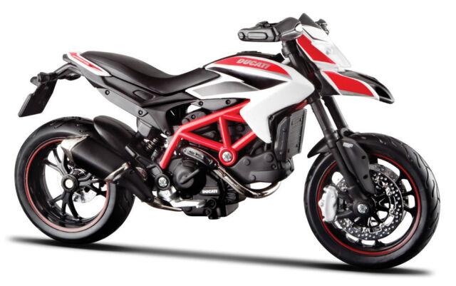 Ducati Hypermotard SP 2013, Maisto Motorrad Modell 1:18, Neu, OVP