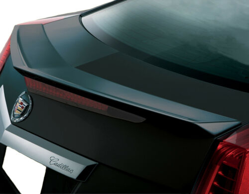 UNPAINTED CADILLAC CTS COUPE 2-DOOR FLUSH MOUNT FACTORY STYLE SPOILER 2011-2014