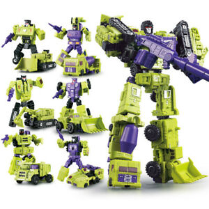 Transformers-Devastator-6-In-1-WJ-Hercules-Engineering-Car-Action-Figure-In-Box