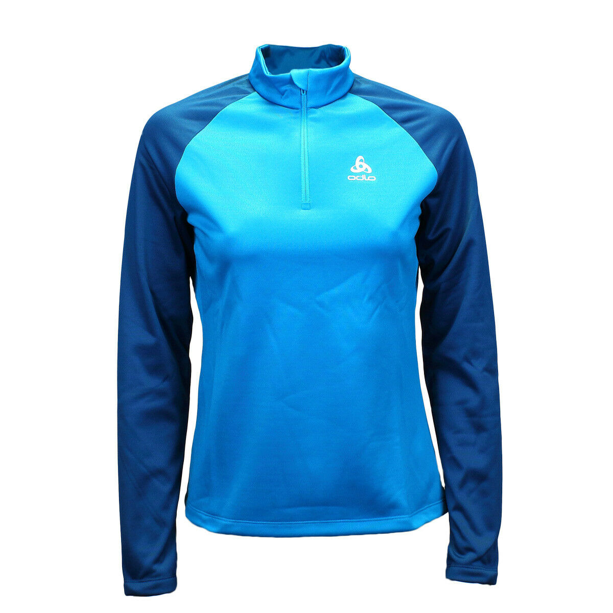 Odlo planches midlayer 1 2 ZIP top Lady   592871-20527 Turkish Tile