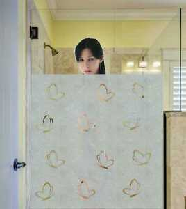 Sichtschutzfolie Schmetterling Dusche Bad Fenster Blickdichte