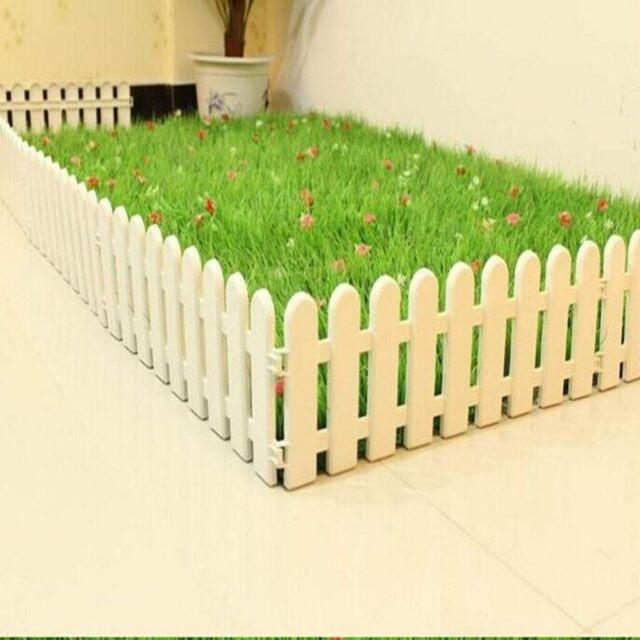 NO DIG!Wood Post//Bollard//Picket Rope Fence wall,driveway,path,garden,7 post,12m