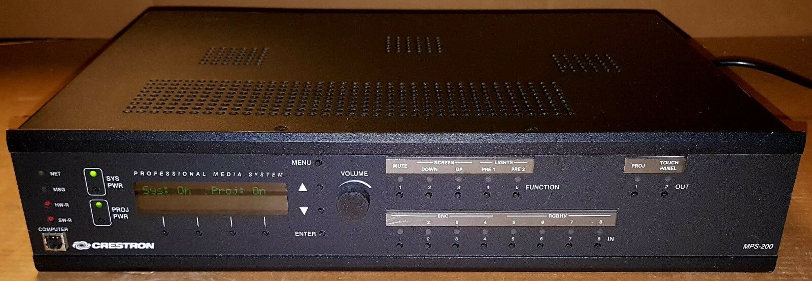 Crestron Multimedia Presentation System 200 MPS-200