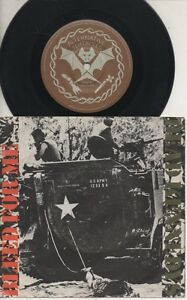 THE-DEAD-KENNEDYS-Rare-1982-Aust-Only-7-034-OOP-Punk-P-C-Single-034-Bleed-For-Me-034