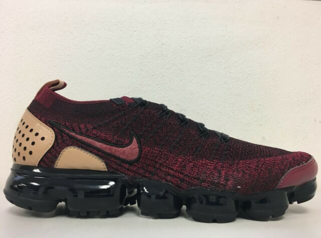 b2c514d2bc9ca Nike Air Vapormax Flyknit 2 NRG Team Red Black AT8955 600 Mens Size 10.5