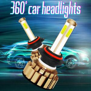 2X-9005-HB3-260W-48000LM-COB-LED-Phare-de-Voiture-Conversion-Ampoule-Feu-Blanc