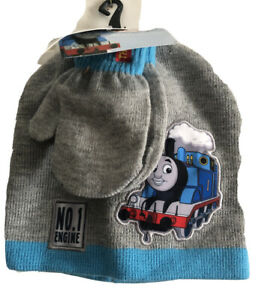 NWT Thomas & Friends  Knit Beanie Hat With Gloves One Size Toddler One Size