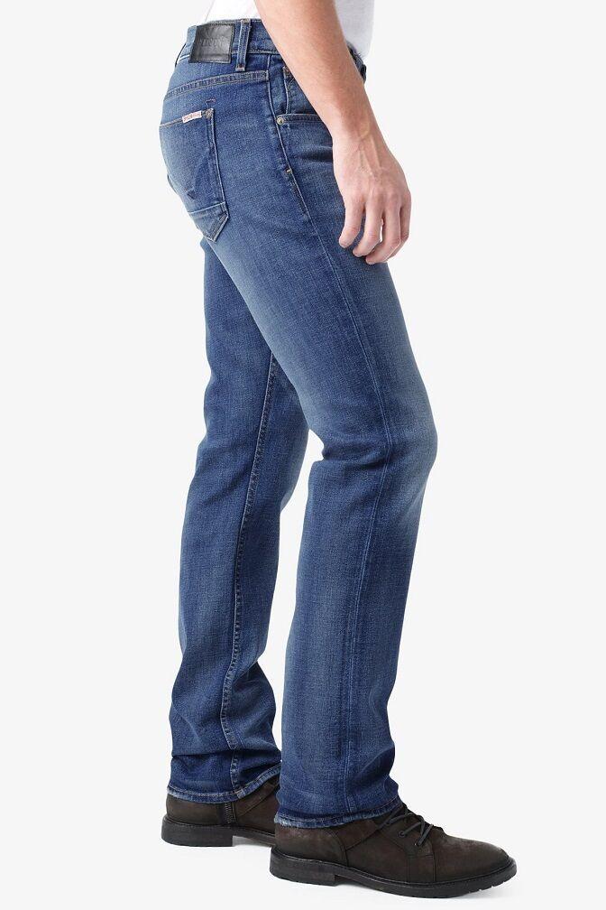 Hudson Byron Men's Straight Jeans in Rebel Roadside MADE IN USA  NEW 32x34