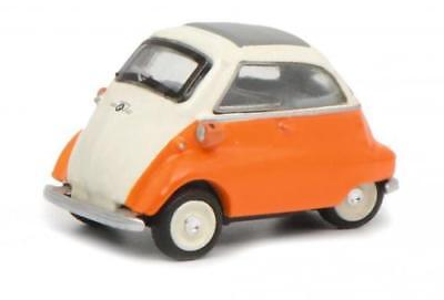 Toys, Hobbies Devoted Schuco Bmw Isetta White Orange White Orange 1:87 Article 45 263 2300 Clear And Distinctive