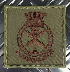 Genuine-British-Army-ROYAL-MARINES-COMMANDO-COMUKMARFOR-Patch-Badge-NEW