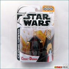 2003 Star Wars Cartoon Network Clone Count Dooku Animated Figure