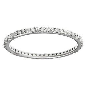 White-Gold-1-3-carat-Pave-Eternity-Diamond-Wedding-Band-G-H-I1-I2