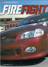 Q21 Clipping-Ritaglio 2002 Mazda Protege 5 - Firefighter