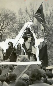 USA-Washington-DC-Demonstration-against-President-Nixon-Election-Old-Photo-1969