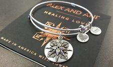 ALEX AND ANI HEALING LOVE RUSSIAN SILVER BANGLE NEW